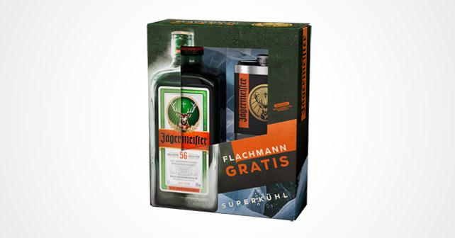 Jägermeister Onpack Flachmann