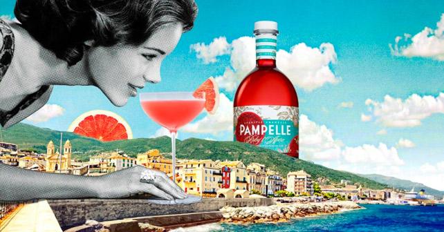 Pampelle Frau Drink