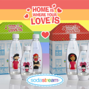 SodaStream Flaschen Love is Love!
