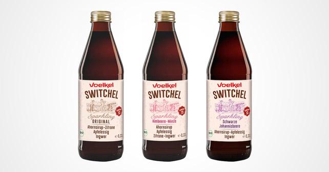 Switchel Sparkling Flaschen