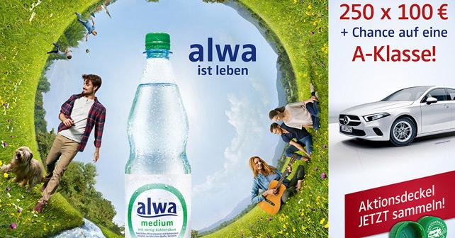 alwa Mineralwasser – Jagd geht in die nächste Runde