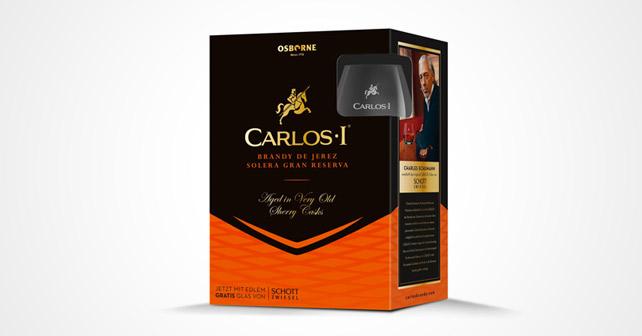 Carlos I Promotion Charles Schumann