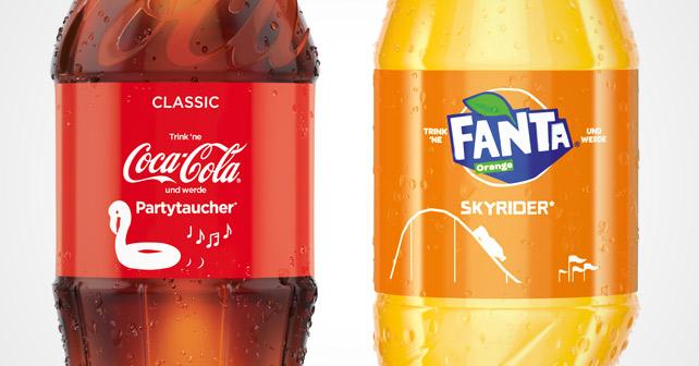 Coca-Cola Sommer Promotion 2018