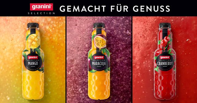 """granini Selection """"Gemacht für Genuss!"""""""