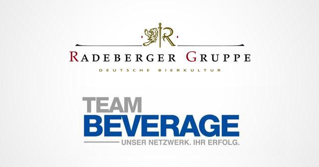 Radeberger Gruppe Team Beverage Logos