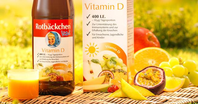 Rotbäckchen Vital Vitamin D