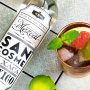 San Cosme Mezcal Flasche Drink