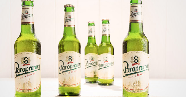Staropramen Flaschen