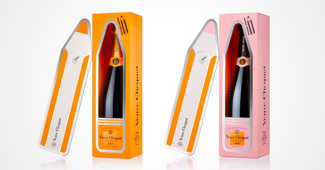 Veuve Clicquot Message Magnet