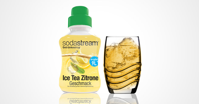 Soda stream ice Tea