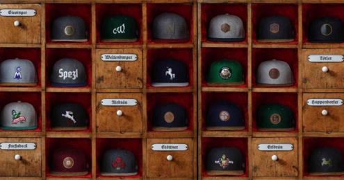 Bavarian Caps Bayern –unsere Biere