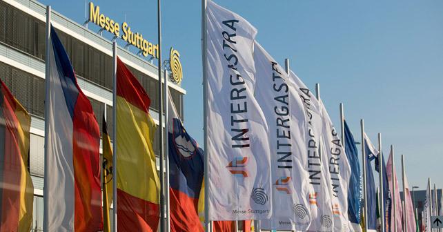 Intergastra Fahnen Messe Stuttgart