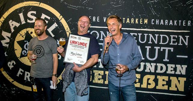 Hobbybrauerwettbewerb Maisel & Friends Max Luttner