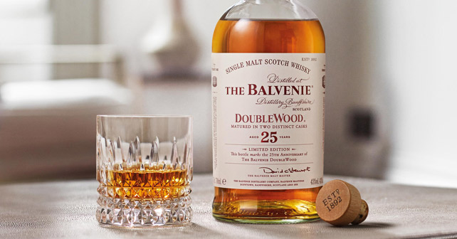 The Balvenie DoubleWood 25 years