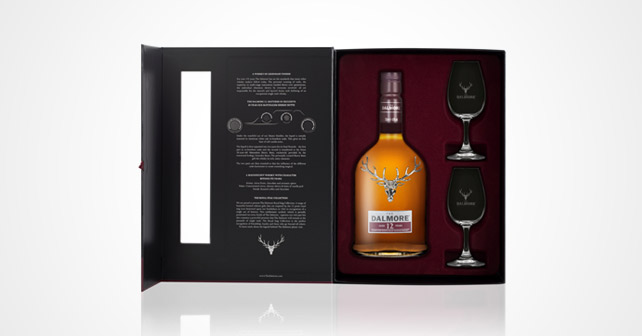 The Dalmore 12 Years Old Geschenkset Nosing