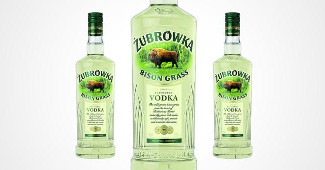 Żubrówka Bisongras Vodka