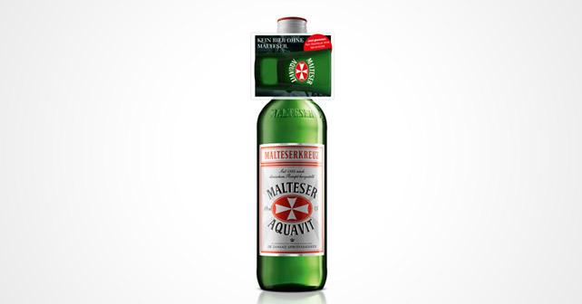 Malteser Aquavit Zusatzglas