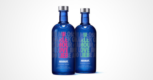 Absolut Vodka A Drop of Love