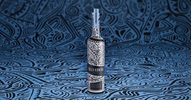 Belvedere Vodka Limited Edition Laolu Senbanjo