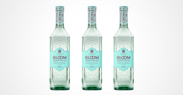 BLOOM London Dry Gin Flaschen