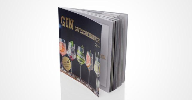 Das Gin Gutscheinbuch 2019 bietet über 40 Gutscheine für deutsche Gins