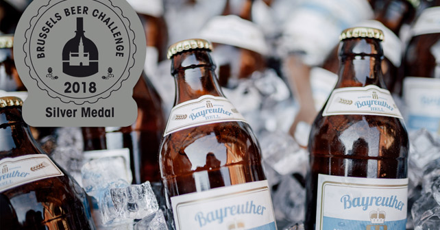 BAYREUTHER HELL Brussels Beer Challenge