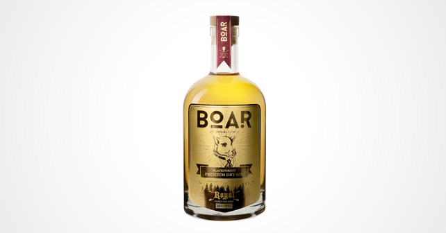 BOAR Gin Royal Edition 2018