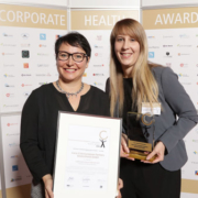 Coca-Cola European Partners Corporate Health Awards 2018