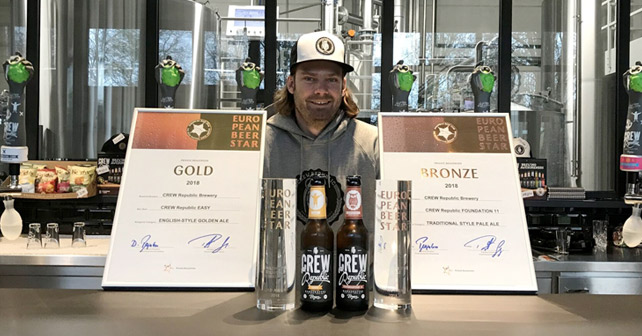 CREW REPUBLIC European Beer Star 2018
