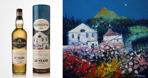 "Glengoyne Whisky ""Spring Blossoms at Glengoyne"""