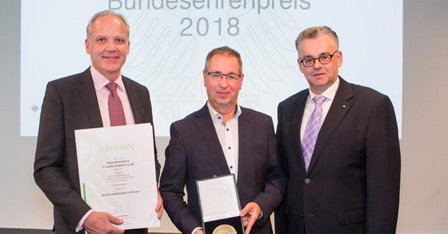 Haus Rabenhorst Bundesehrenpreis 2018
