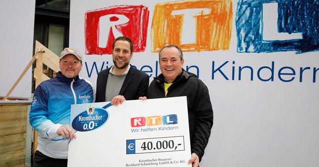 Krombacher RTL Spendenmarathon 2018