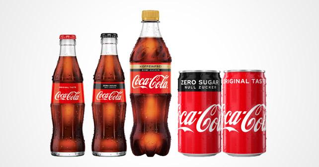 Coca-Cola neues Design 2018
