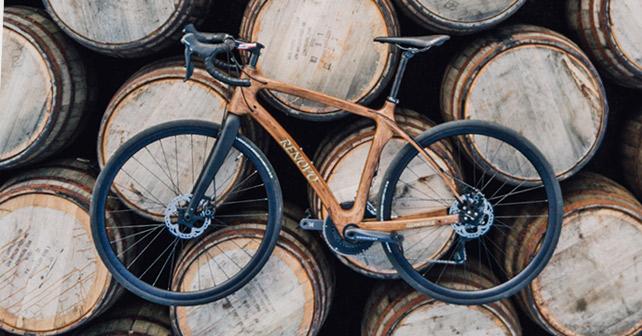 Glenmorangie Holz Fahrrad
