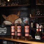 Bushmills Flaschen auf der Theke