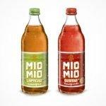 Flaschen der neue sorten mio mio lapache und miomio guarana