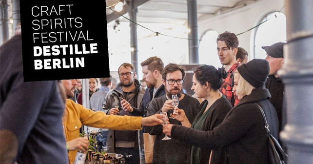 Moodmotiv vom Craft Spirits Festival DESTILLE BERLIN