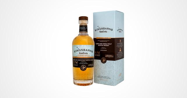 flasche und Verpackung von Kingsbarns Single Malt Whisky