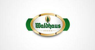 Das Logo der Privatbrauerei Waldhaus