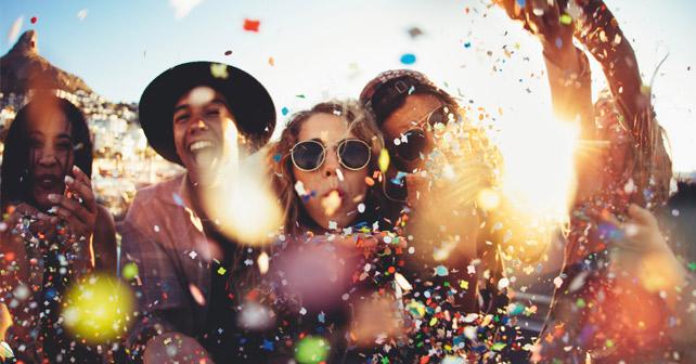 Party auf Ibiza