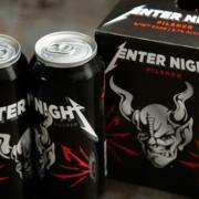 Das Enter Night Pilsner von Stone Brewing und Metallica