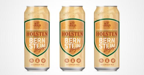 Dosen des Bernstein Lagers von Holsten