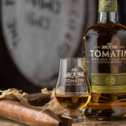 Flasche des Tomatin Whisky 12 Year Old