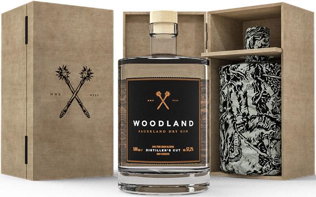 Produkt Woodland Sauerland Dry Gin Navy Strength