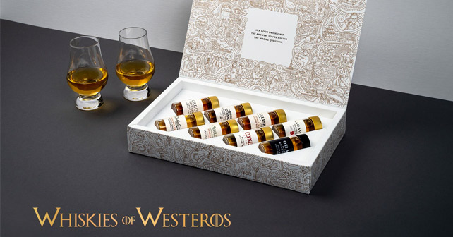 "Das Tastillery-Set ""Whiskies of Westeros"" zum Finale von ""Game of Thrones"""