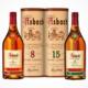 Asbach 8 Jahre und Asbach 15 Jahre Flasche