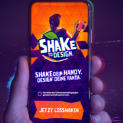 Fanta Shake to Design App