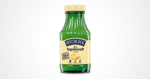 Flasche Hitchcock Bio Ingwersaft