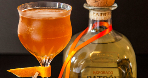 Patrón Reposado Cocktail