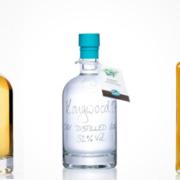 VomFass Shrub, Gin und Whisky Flasche
